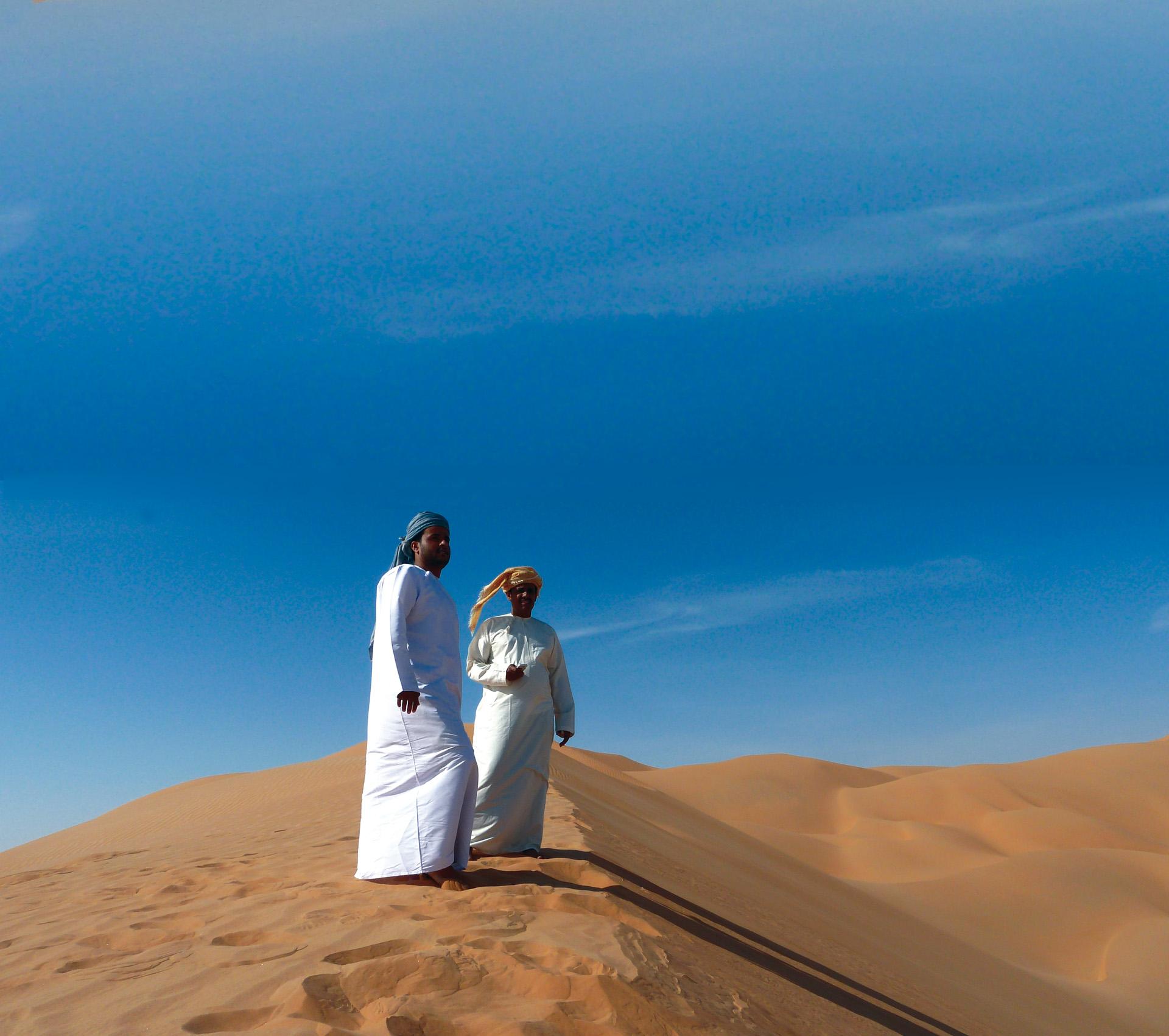 Unterwegs in der Rub al Khali-Wüste