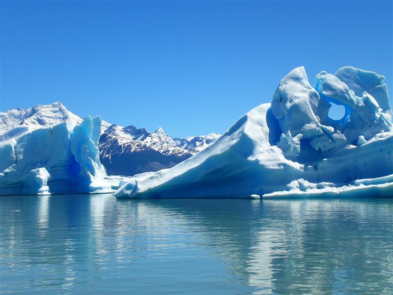 Beeindruckende Gletscherwelt Patagoniens bei dieser Patagonien Rundreise