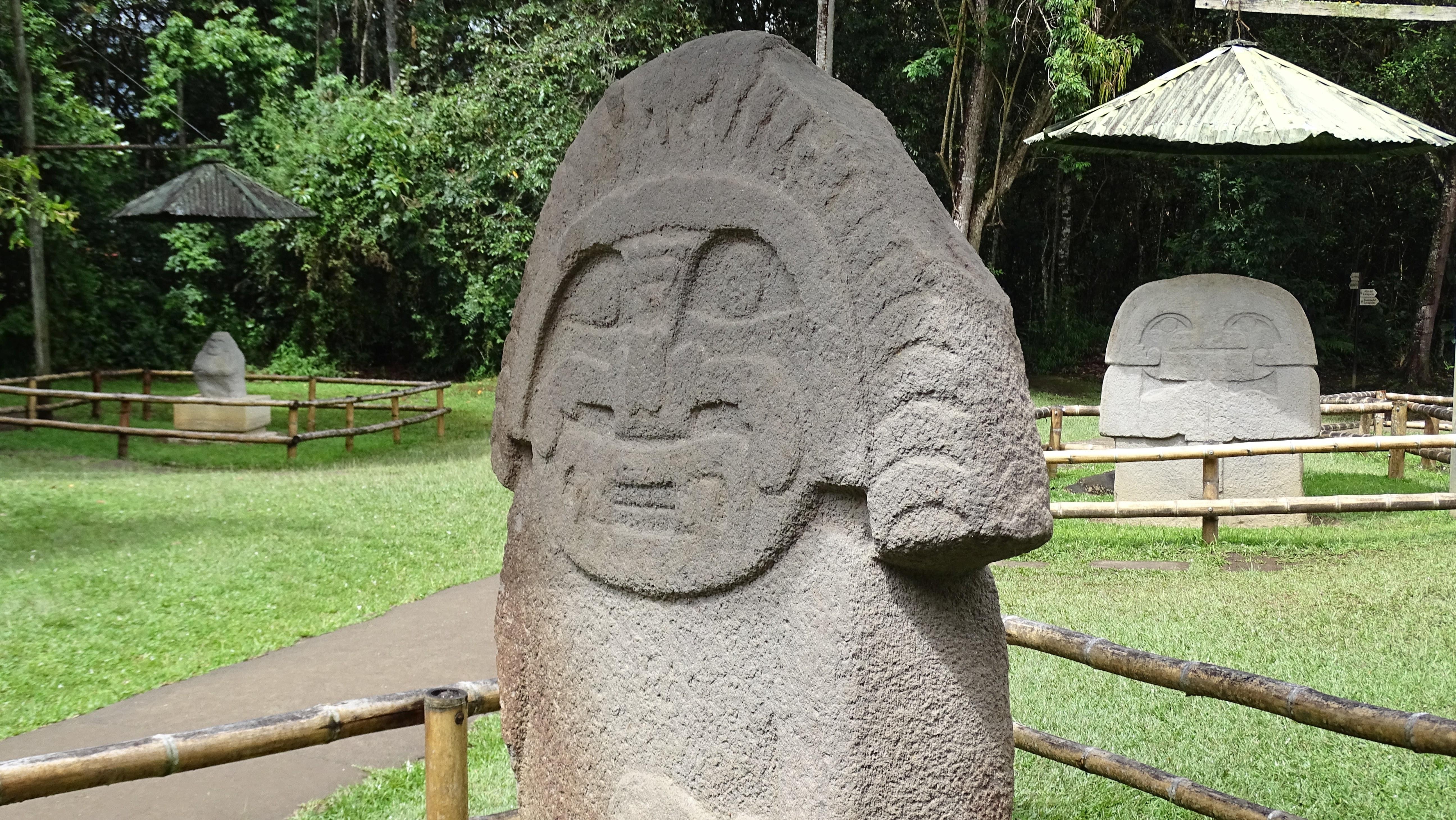 Bedeutendste Ausgrabungsstätte Kolumbiens und UNESCO Weltkulturerbe - San Agustin