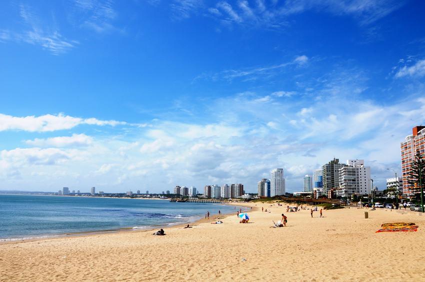 Badeparadies der Reichen und Schönen in Uruguay - Punta del Este