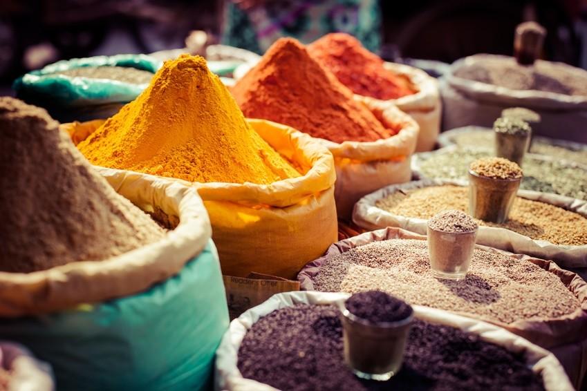 Bunte Märkte auf unserer Indien-Rundreise