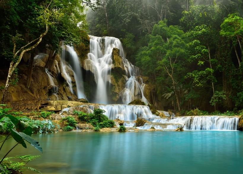 Wasserfälle in der Nähe von Luang Prabang