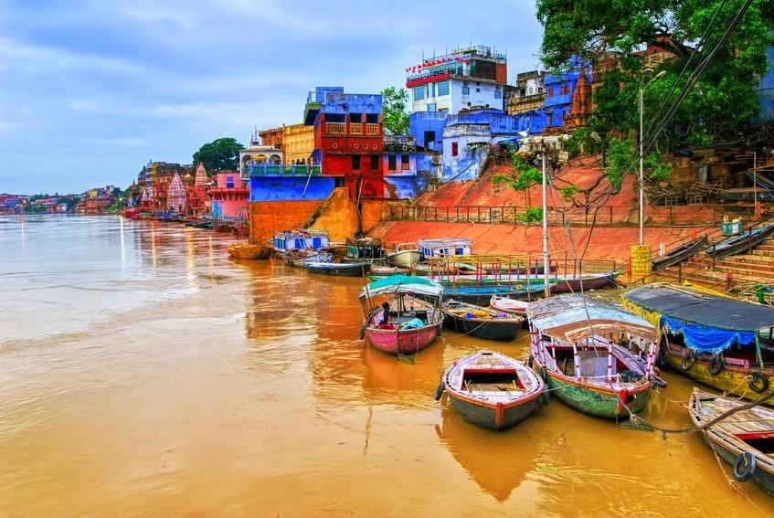 Am Ganges Fluss
