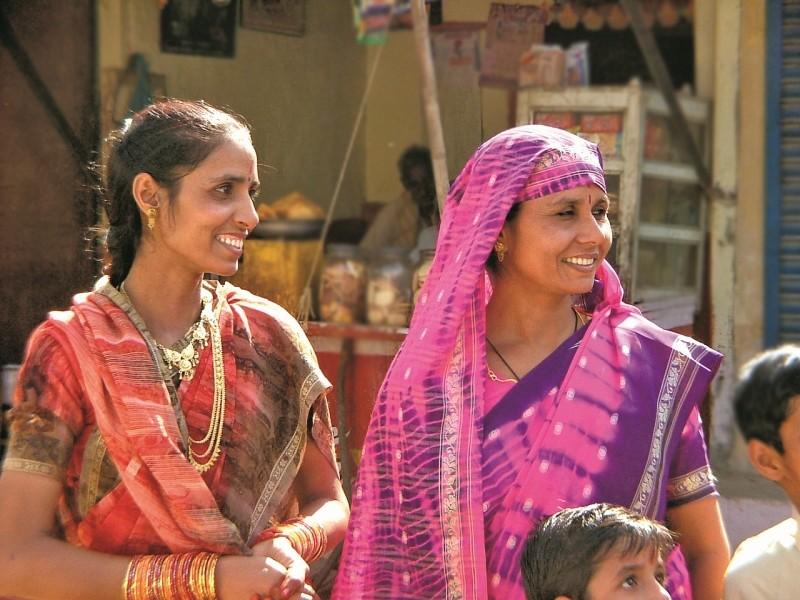 Überall freundliche Menschen in Indien