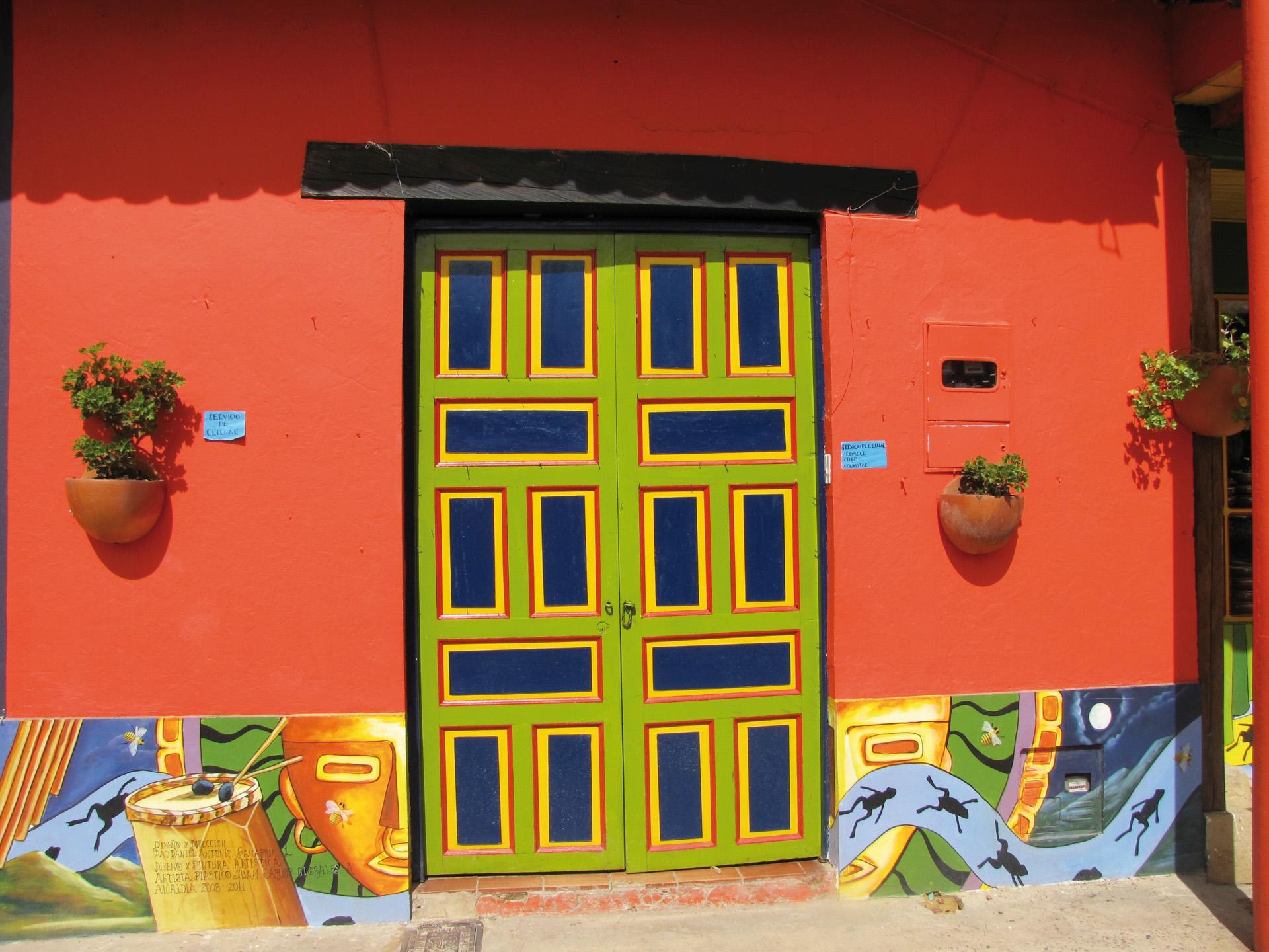 Bunte Farben auf unserer Kolumbien-Privatreise