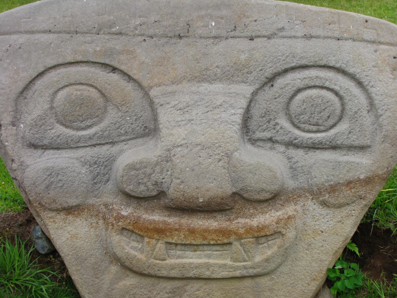 UNESCO Weltkulturerbe - Archäologischer Park in San Agustin