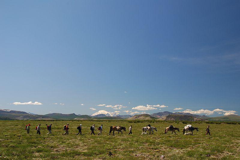 5 Tage Wandern im Bystrinskij Naturpark