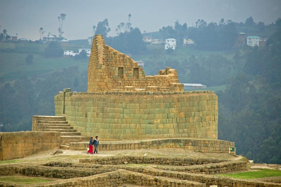 Ingapirca - bedeutendste archäologische Stätte Ecuadors