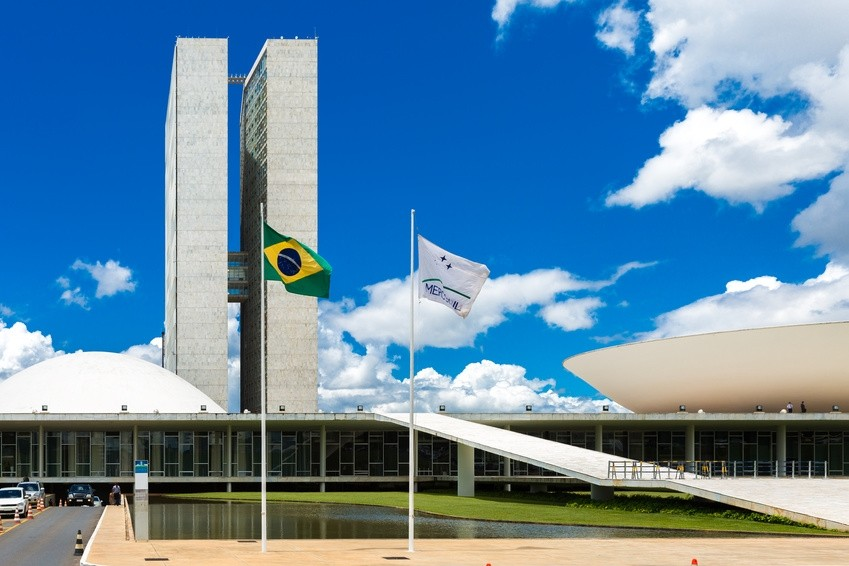 Interessante Architektur in Brasilia