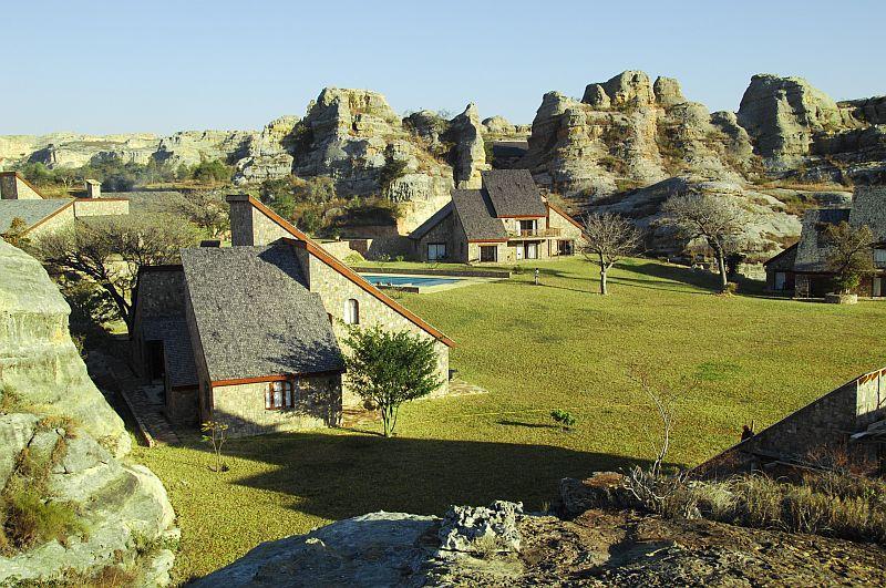 Herrliche Lodge im Isalo Nationalpark