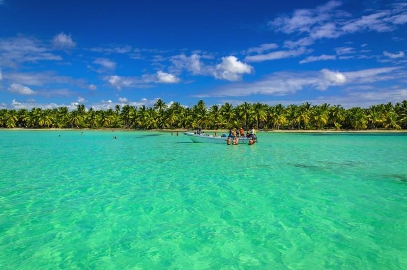 Traumhafte Karibikküste in Guatemala
