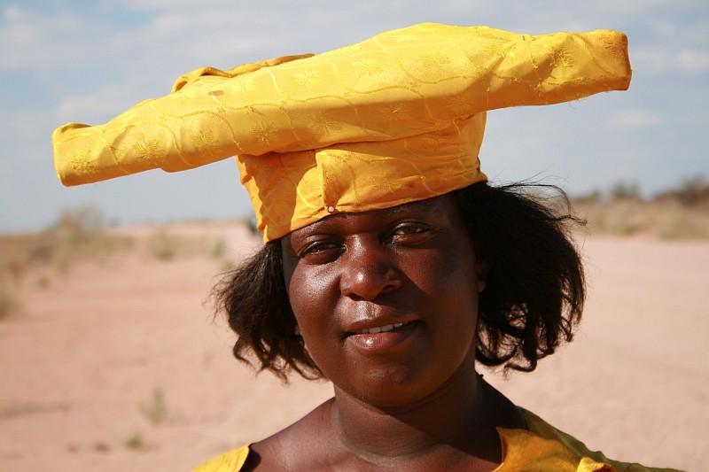 Frau vom Stamm der Herero