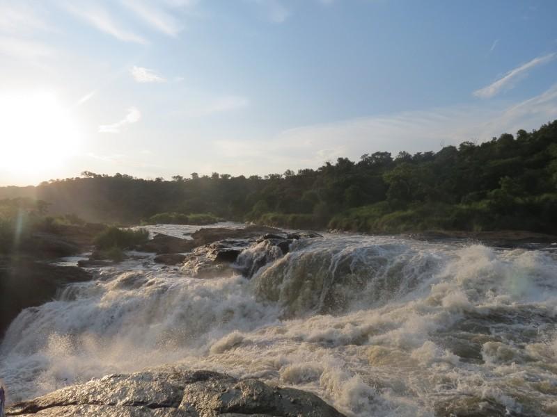Die Murchison Wasserfälle