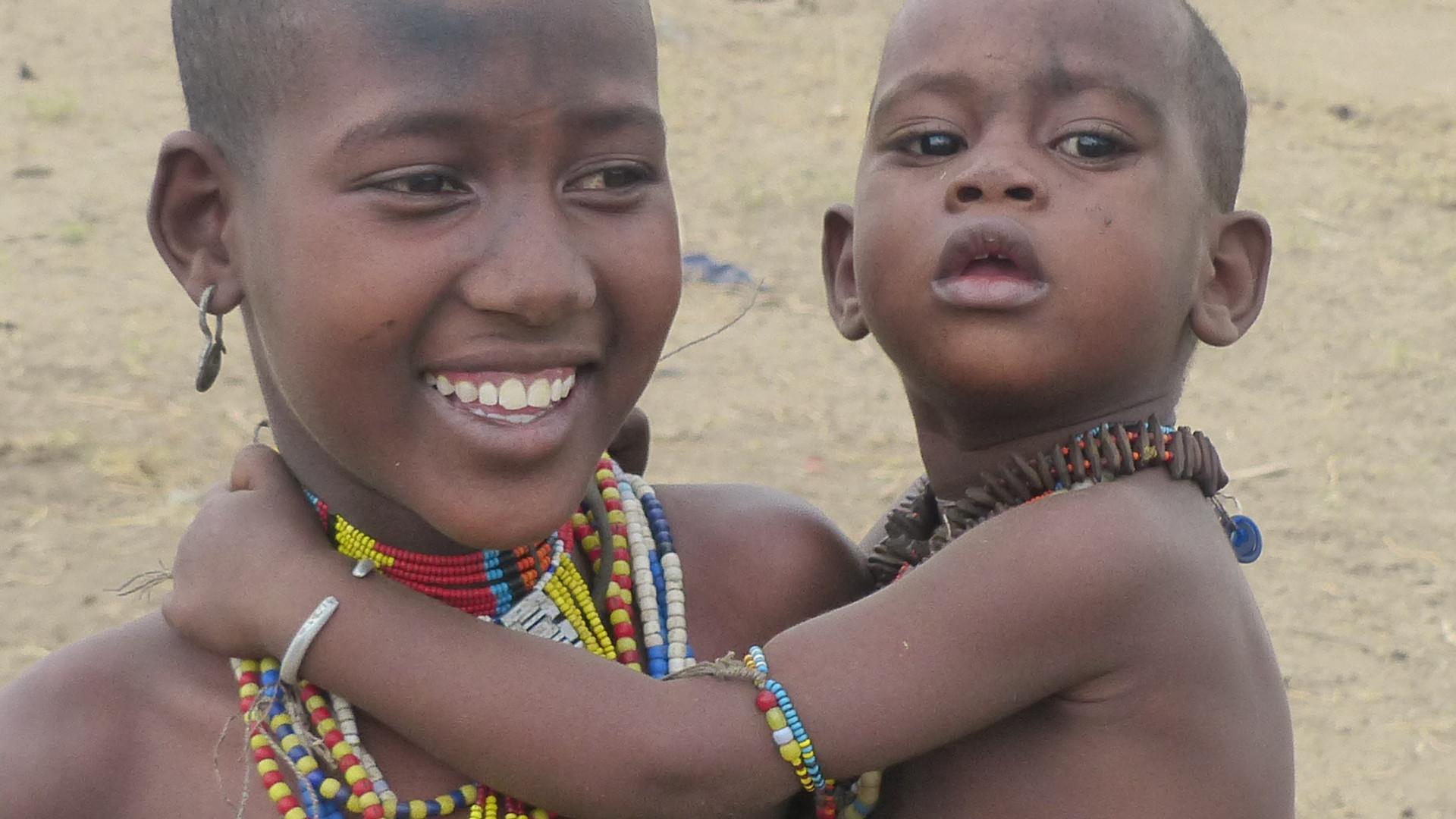 Begegnung mit Einheimischen in Südäthiopien