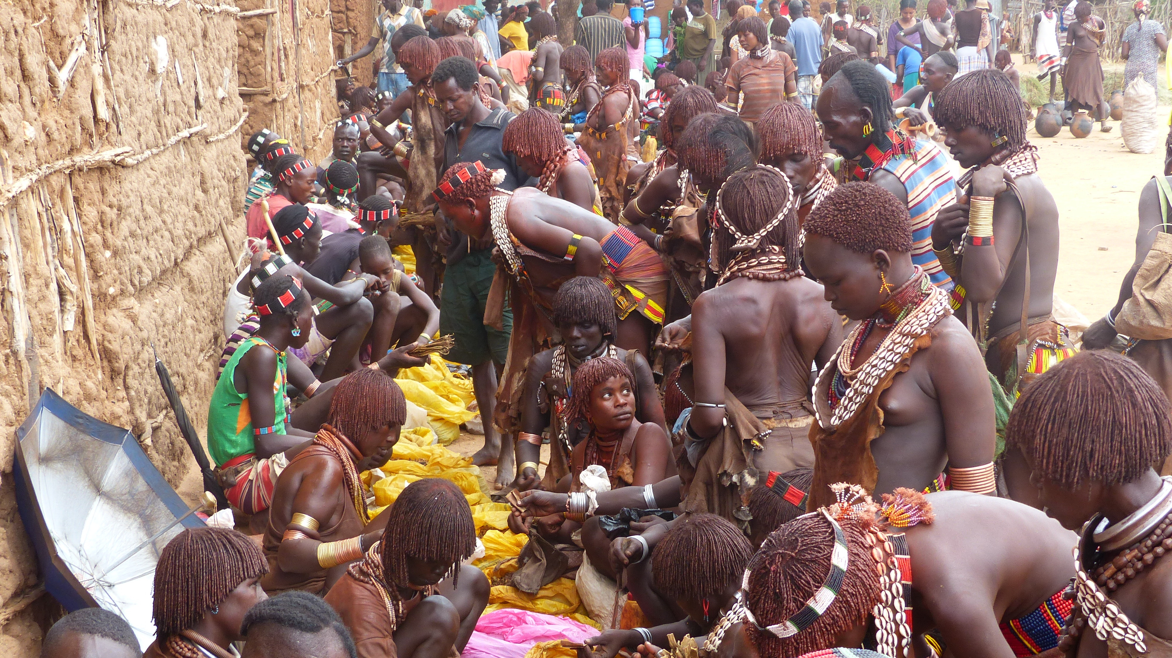 Markttreiben in Südäthiopien