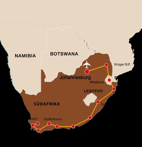 Südafrika rundreise 2019 10 tage