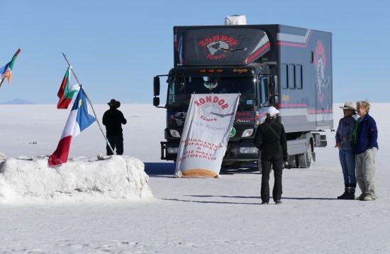 Eindrucksvoller Salzsee Salar de Uyuni auf unserer Peru-Rundreise