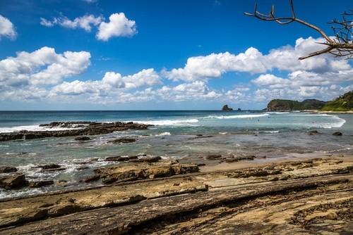 Strandlandschaft in Nicaragua