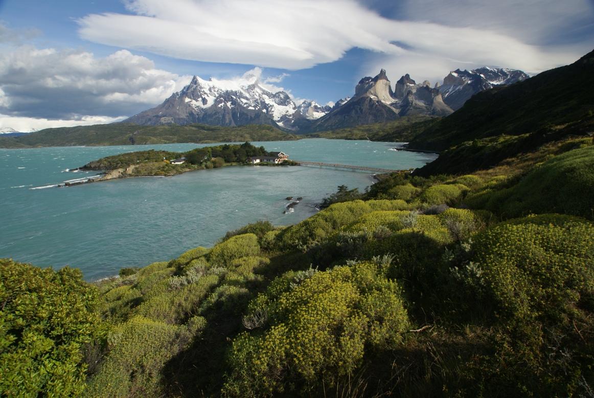 Grandiose Landschaft im Torres del Paine-Nationalpark auf unserer Patagonien Reise
