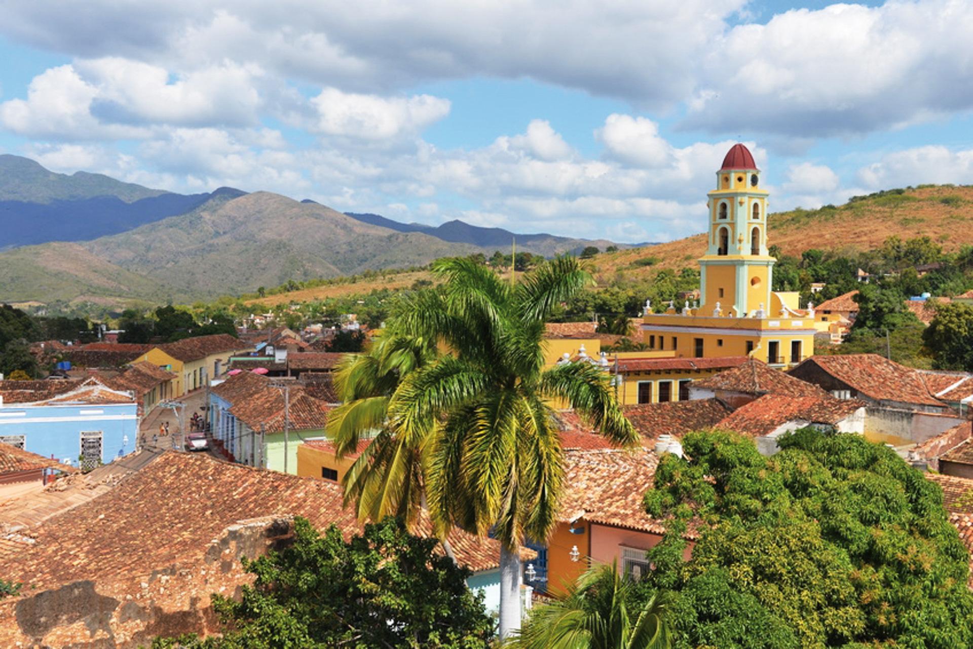 Blick auf das schöne Trinidad