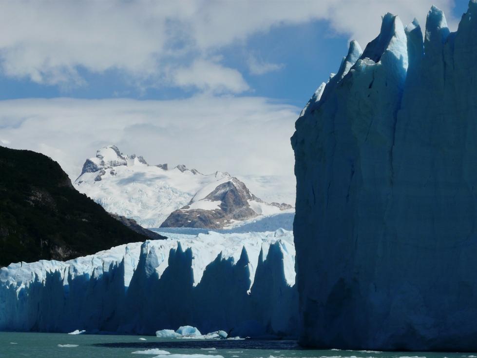 Das Wunder in Blau - Perito Moreno Gletscher in Argentinien auf unserer Patagonien Reise