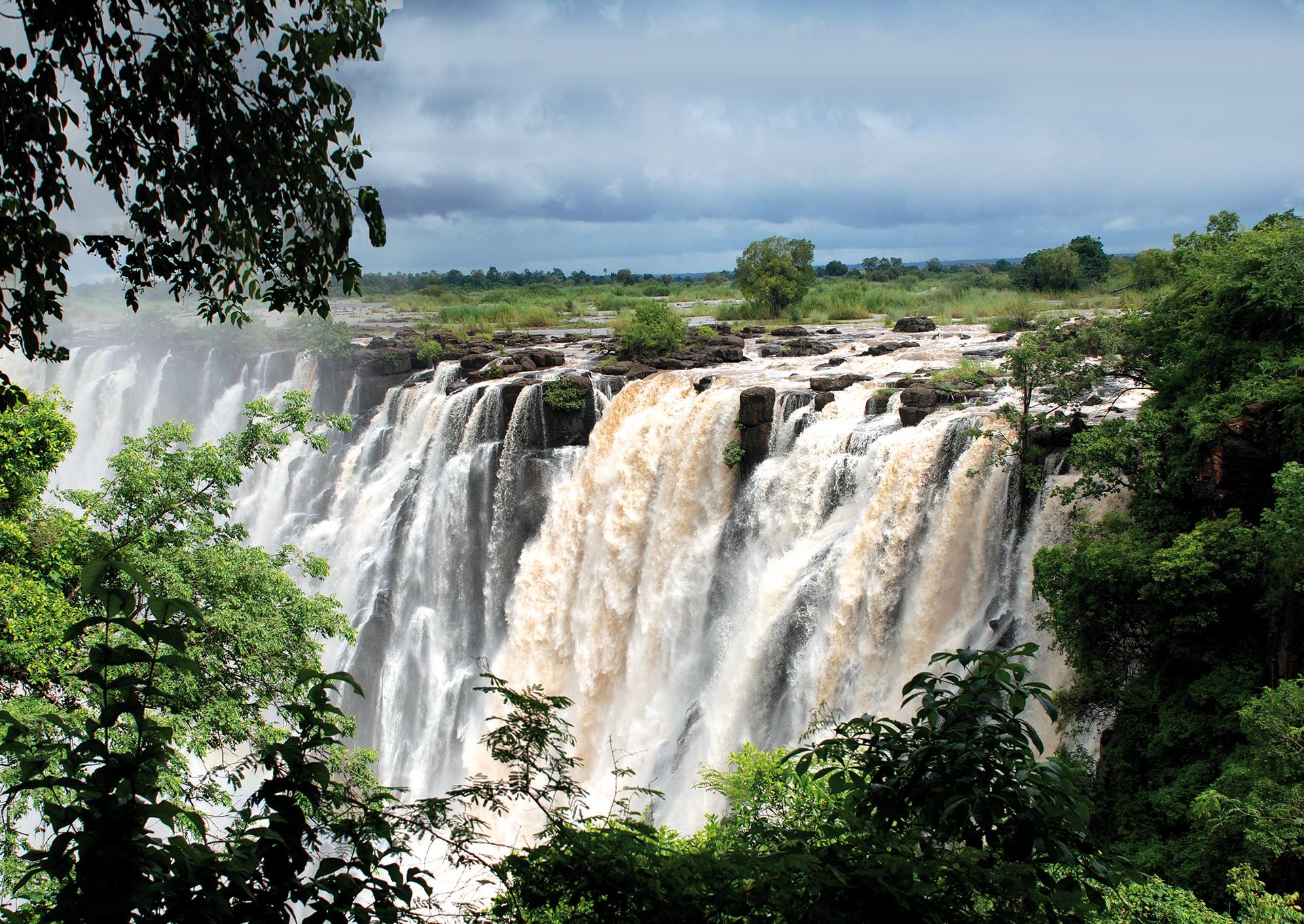 Atemberaubende Victoria Falls
