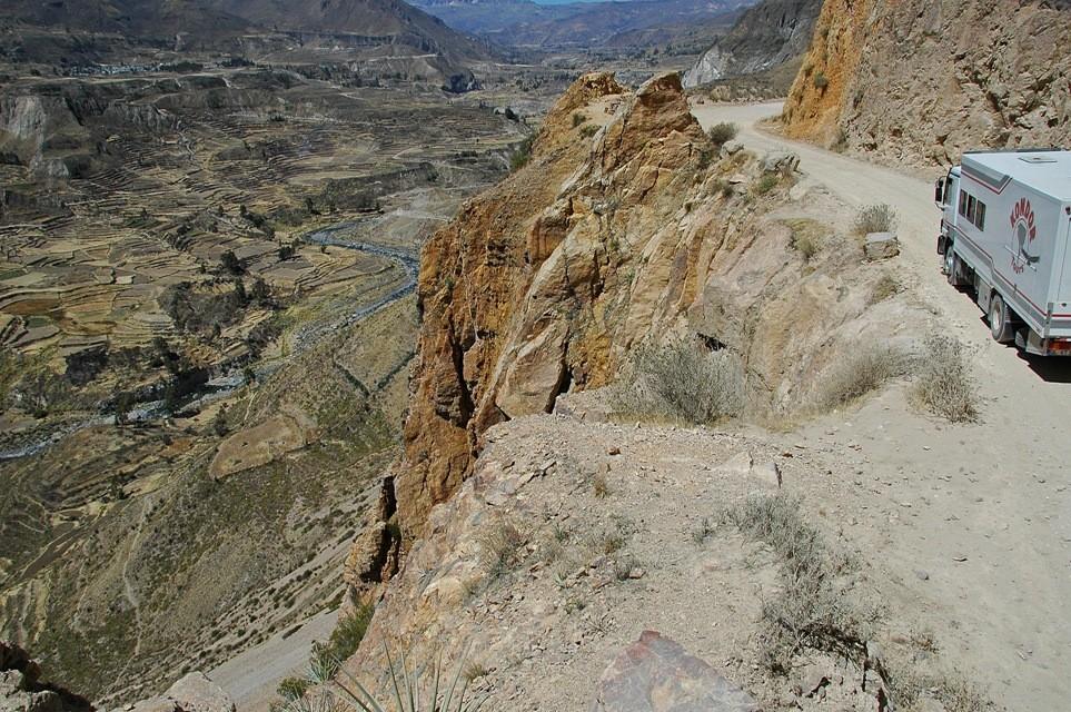 Colca-Canyon während unserer Rundreise durch Peru