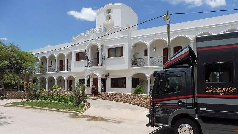 Unser Hotel Portal del Santo in Argentinien