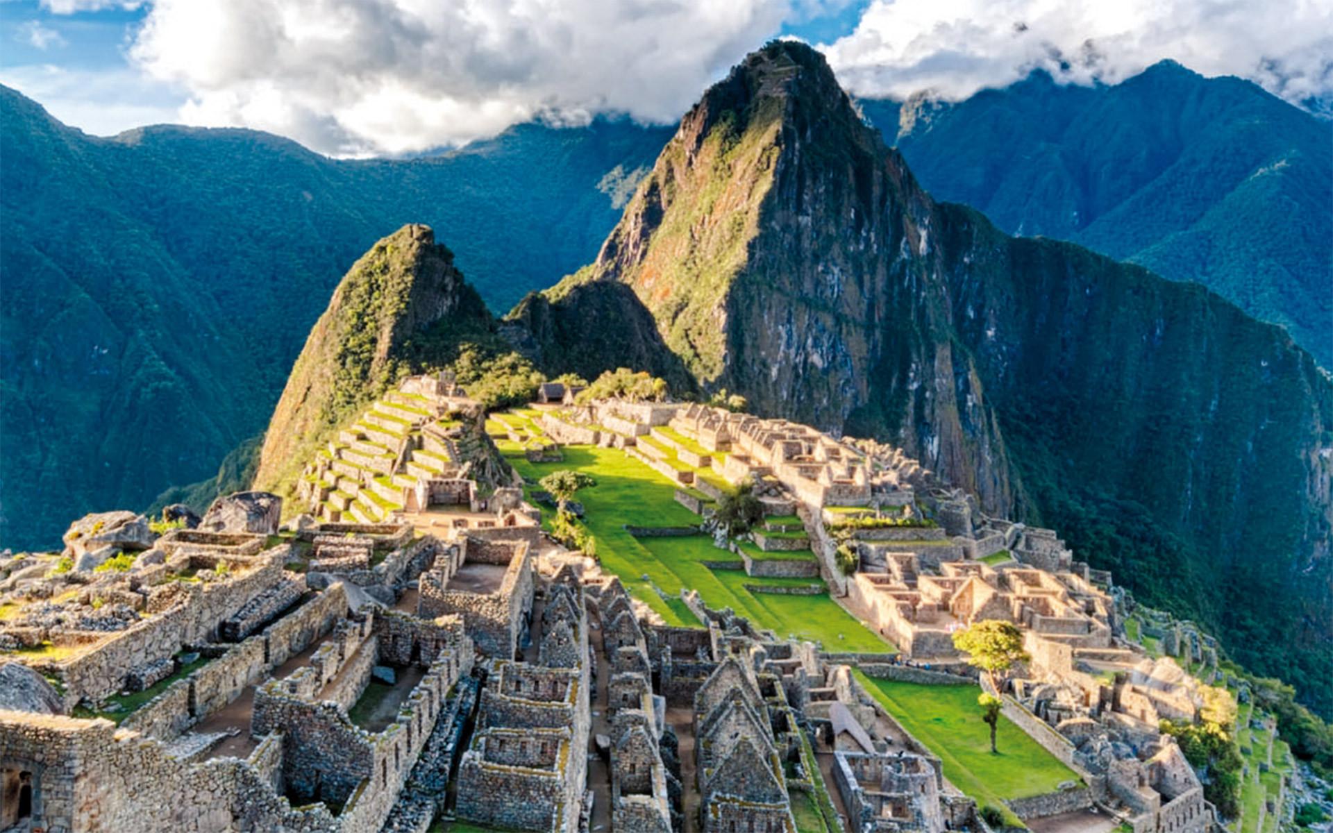Immer ein besonderes Ziel ist die ehemalige Inkahauptstadt Machu Picchu