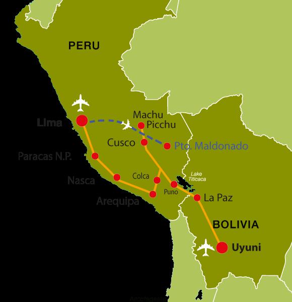 Peru-Reise Ins Reich der Inka