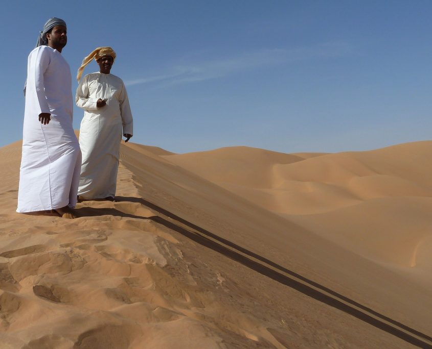 Unterwegs in der Rub al Khali