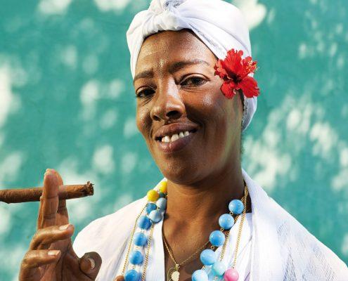 Schöne Kubanerin