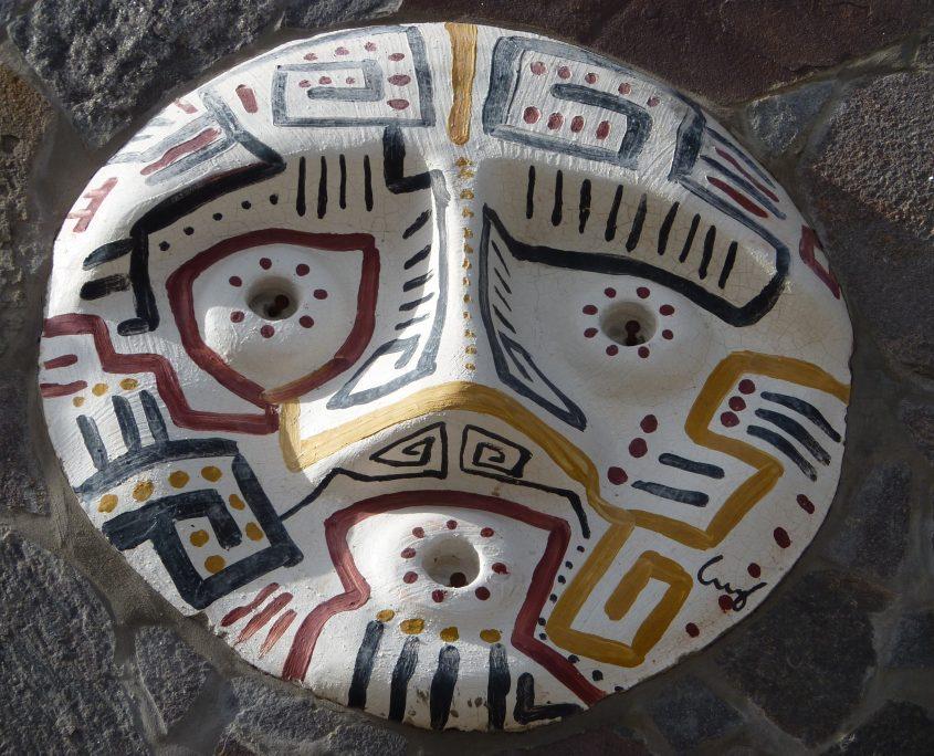 Zu Besuch bei einheimischen Künstlern während unserer Südamerika Reise