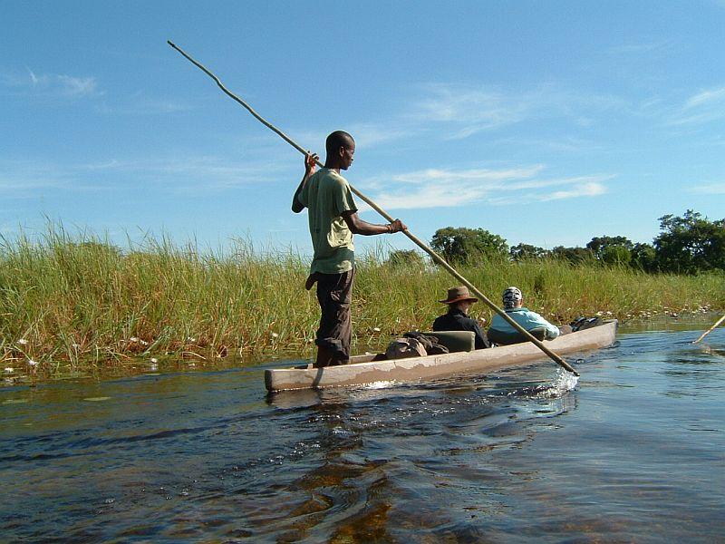 Bootsfahrt auf dem Chobe Fluss