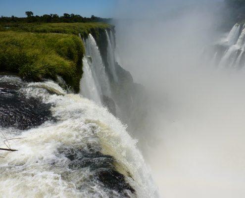 Weltberühmte Iguazú-Wasserfälle