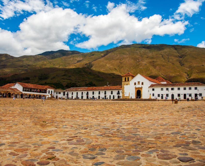 Das gemütliche Städtchen Villa de Leyva besuchen wir auf unserer Kolumbien Reise