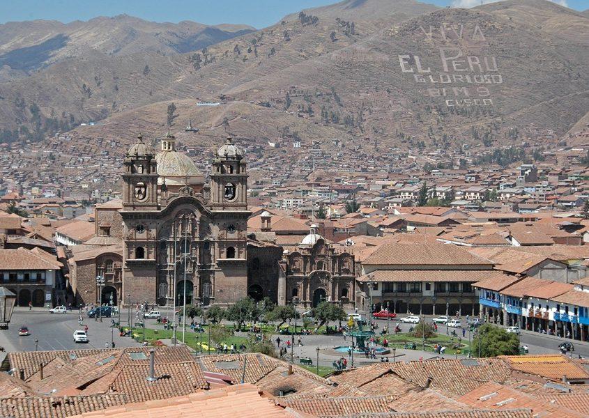 Blick auf die Dächer von Cusco auf unserer Amazonas Reise