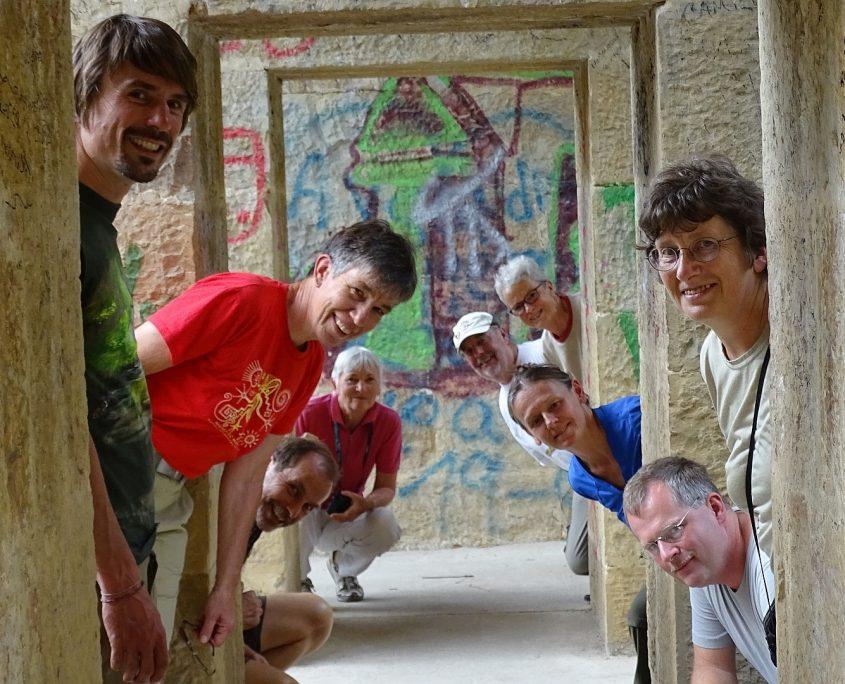 Unsere Gruppe auf der Kolumbien Reise