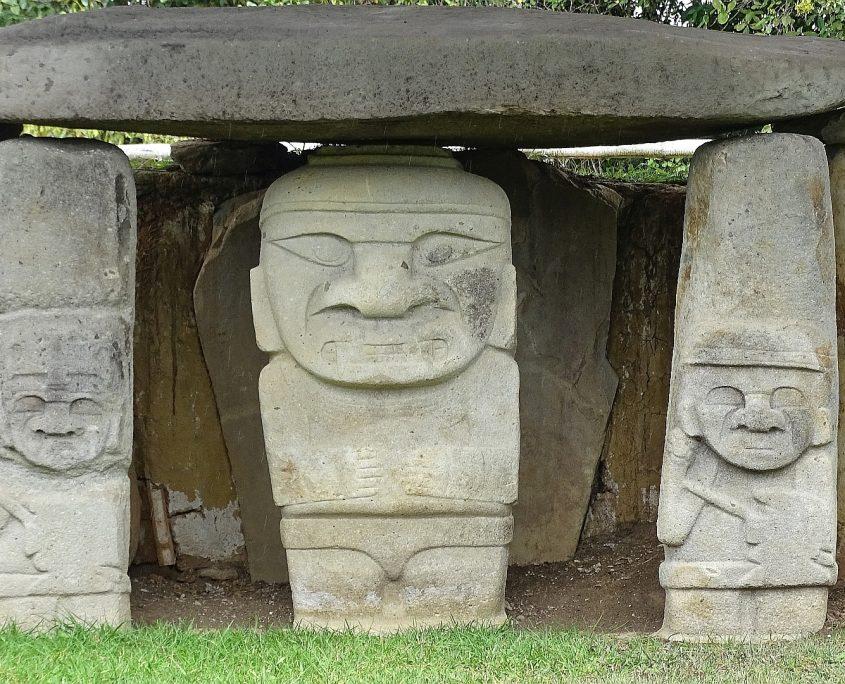 Archäologischer Park in San Agustin