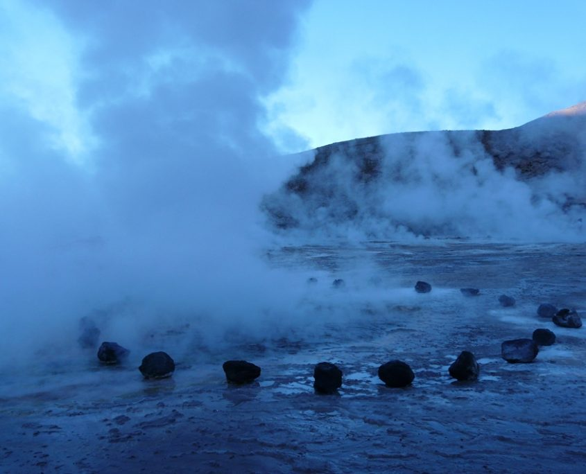 El Tatio Geysirfeld in Chile