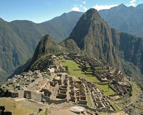 Machu Picchu - die nie entdeckte Inkastadt auf unserer Amazonas Reise