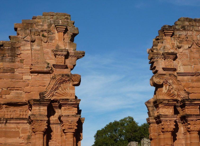 Jesuitenreduktion San Ignacio Mini während unserer Südamerika Reise