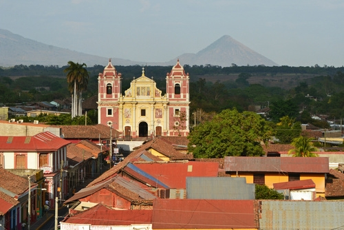 Koloniale Stadt Leon in Nicaragua auf unserer Mittelamerika Reise