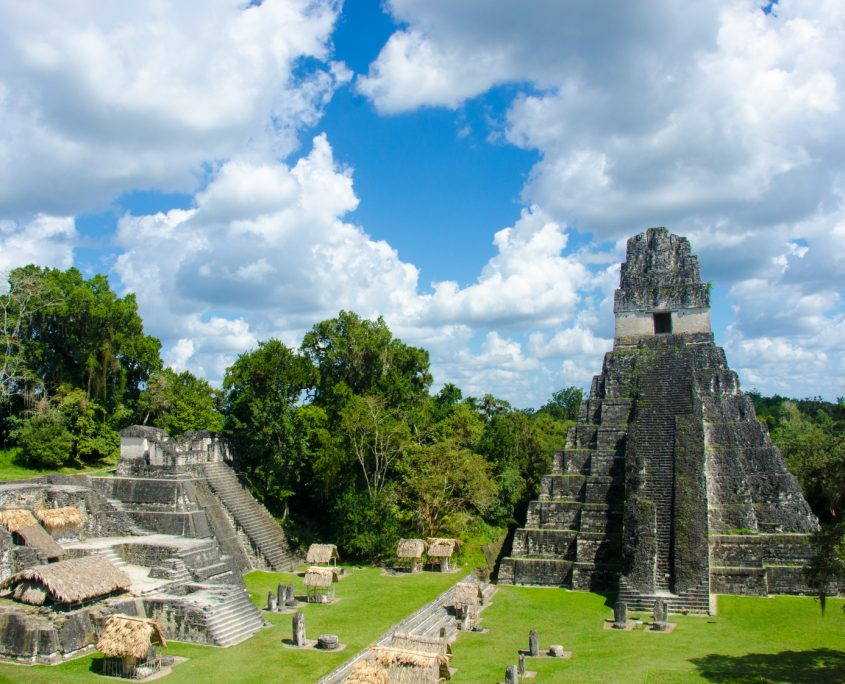 Wir besuchen die berühmten Tikalruinen in Guatemala
