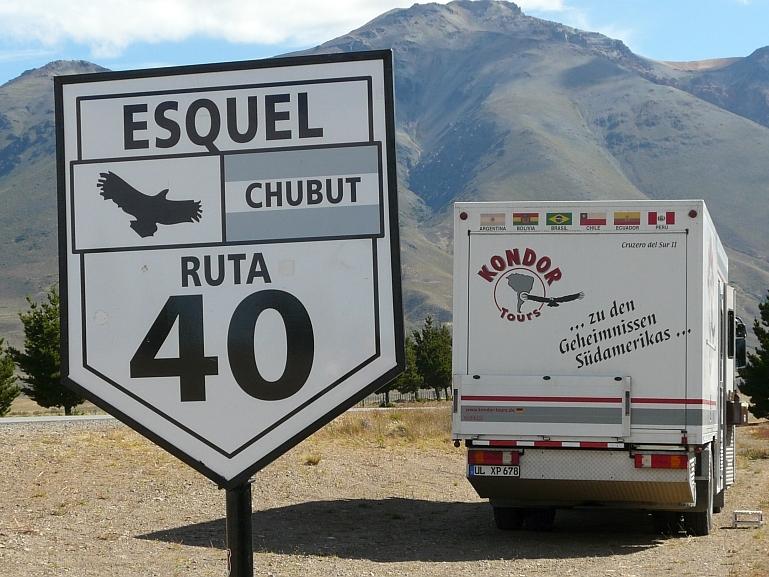 Unterwegs auf der Ruta 40 in Argentinien