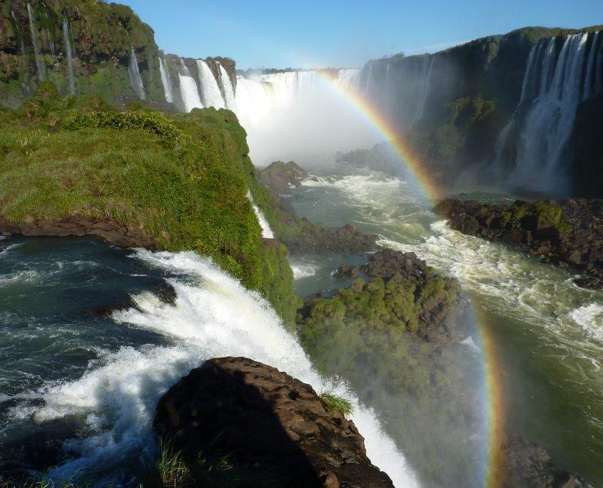 Besuch der Iguazú-Wasserfälle in Argentinien und Brasilien