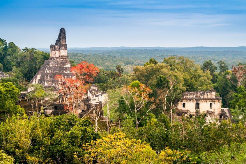 Tikal Tempel in Guatemala