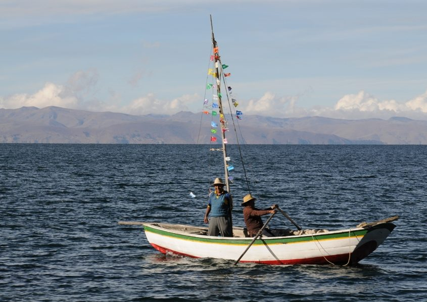 Unterwegs auf dem Titicaca-See