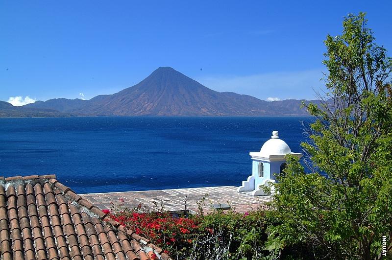 Vulkan San Pedro in Guatemala