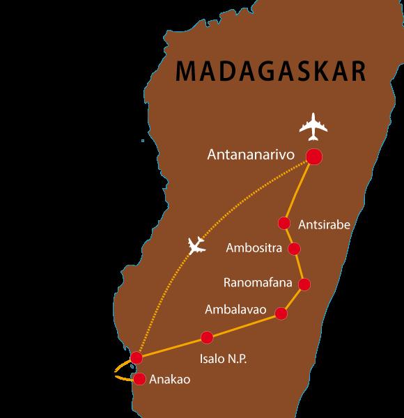 Madagaskar-Rundreise